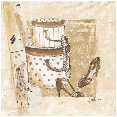 Boites et Chaussures Prints by Véronique Didier-Laurent