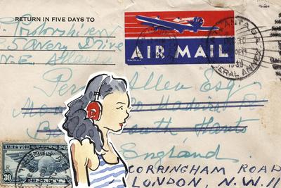Carte Postal IV Prints by Claire Fletcher