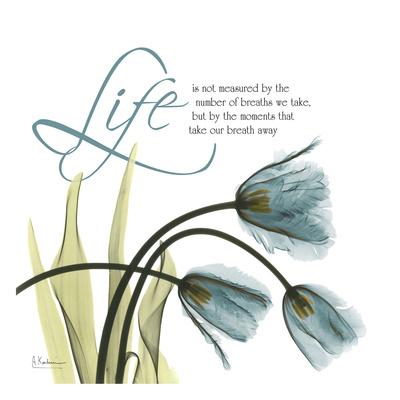 Swaying Tulips Blue, Life Prints by Albert Koetsier