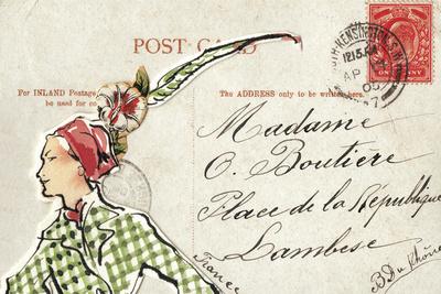 Carte Postal II Prints by Claire Fletcher
