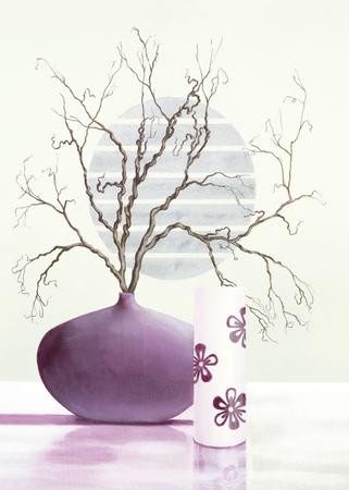 Purple Inspiration II Prints by David Sedalia