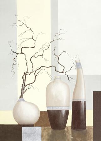 Medley in Brown I Poster by David Sedalia