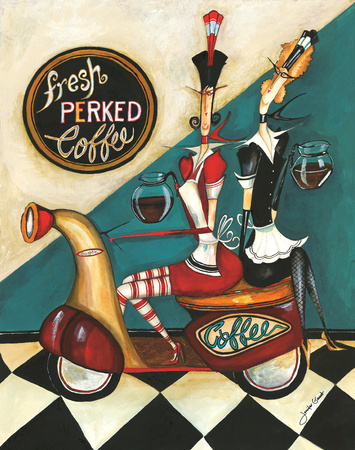 Fresh Perked Art Print