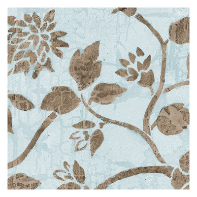 Pale Blue Blooms Posters by Carol Kemery