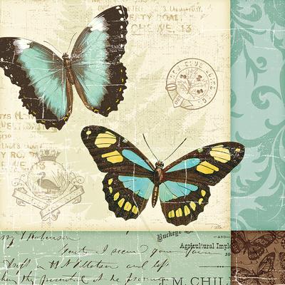 Butterfly Patchwork II Art by  Pela