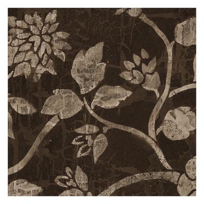 Soft Brown Blooms Prints by Carol Kemery