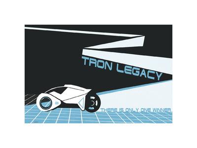 Tron Legacy: There is Only One Winner Digitálně vytištěná reprodukce