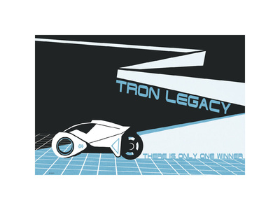 Tron Legacy: There is Only One Winner Lámina giclée