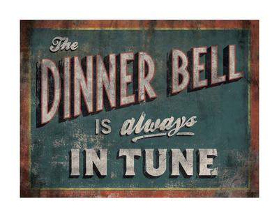 The Dinner Bell Prints by Luke Stockdale