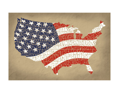 Star Spangled Banner Art Print