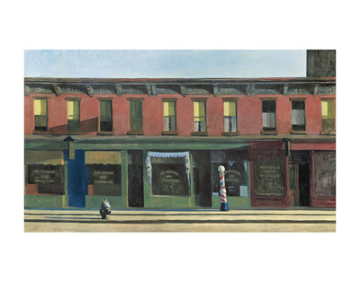 Early Sunday Morning, c.1930 Posters by Edward Hopper