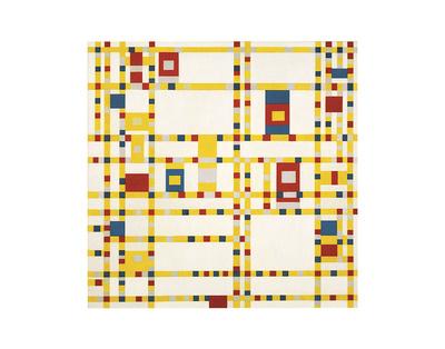 Broadway Boogie Woogie Posters by Piet Mondrian