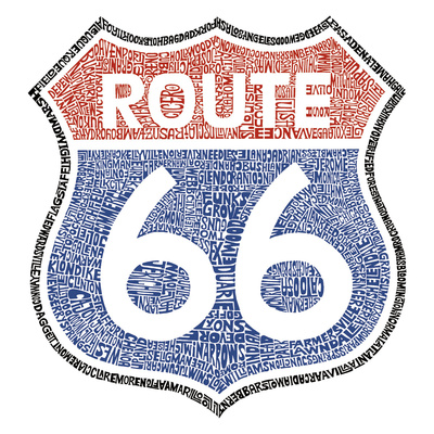 The Legendary Route 66 Taidevedos