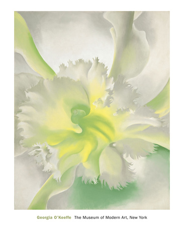 An Orchid, 1941 Posters by Georgia O'Keeffe