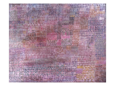 Cathedrals; Kathedralen Premium Giclee Print by Paul Klee
