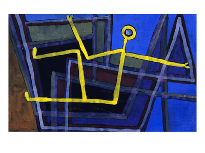 Framed; Im Gebalk Premium Giclee Print by Paul Klee