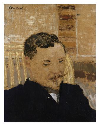 Portrait of Romain Coolus Premium Giclee Print by Edouard Vuillard
