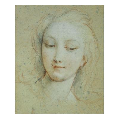 The Head of Venus Giclee Print by Francois Lemoyne