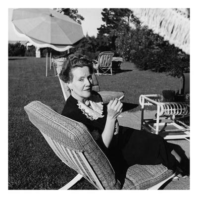 House & Garden - June 1946 Photographic Print by Luis Lemus