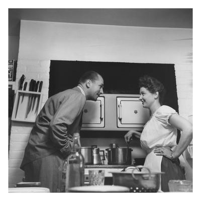 House & Garden - September 1946 Photographic Print by Luis Lemus