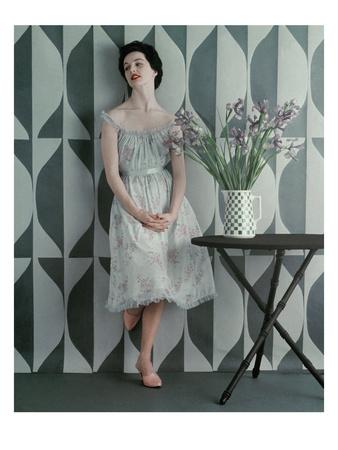 Vogue - April 1953 Photographic Print by Richard Rutledge