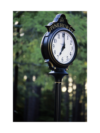 Pinehurst Clock Photographic Print by Dom Furore