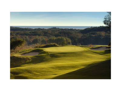 Crystal Downs Country Club, rolling fairways Photographic Print by Dom Furore