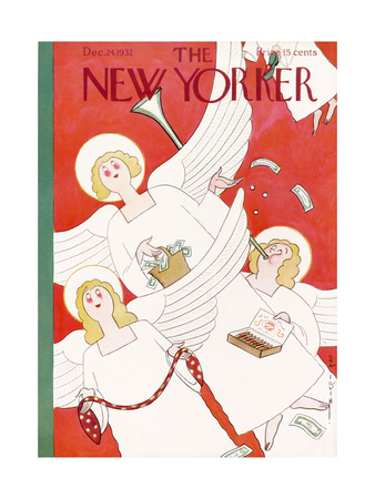 The New Yorker Cover - December 24, 1932 Giclee Print