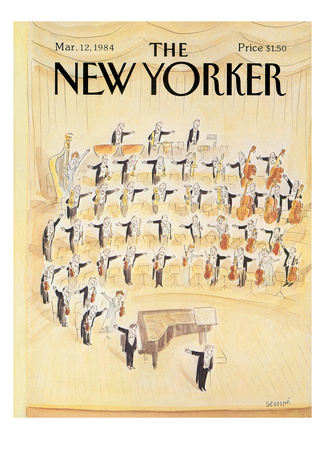 The New Yorker Cover - March 12, 1984 Giclee Print