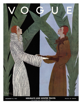 Vogue Cover - December 1931 Giclee Print