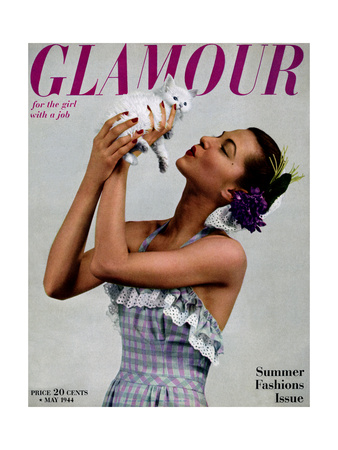 Glamour Cover - May 1944 reproduction procédé giclée
