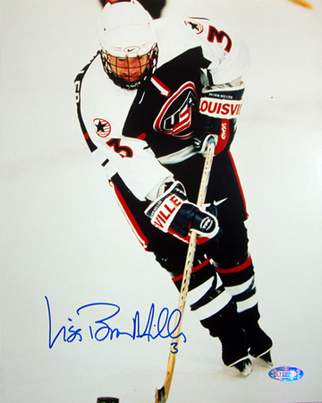 Lisa Miller 1998 US Womens Hockey Action Autographed Photo (Hand Signed Collectable) Photographie