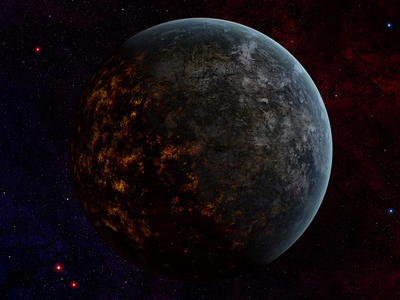 Artist's Concept of an Extraterrestrial Planet Photographic Print by  Stocktrek Images