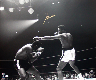 Muhammad Ali vs. Patterson Autographed Photo (Hand Signed Collectable) Photo