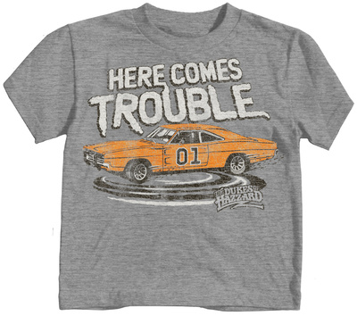 Toddler: The Dukes Of Hazzard - Here Comes Trouble T-Shirt