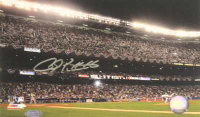 Andy Pettitte First Pitch Last Game at Yankee Stadium Photo Foto