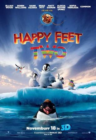 Happy Feet 2 in 3D Masterprint
