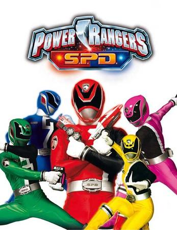 Power Rangers S.P.D. Masterprint