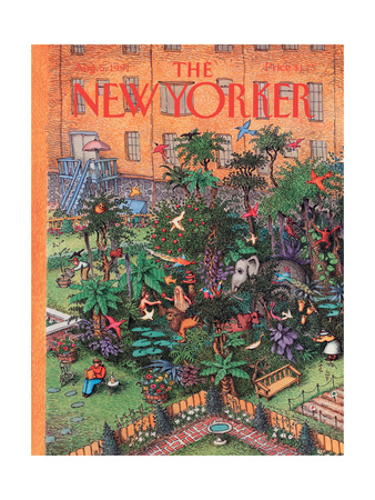 The New Yorker Cover - August 5, 1991 Giclee Print by John O'brien