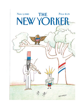 The New Yorker Cover - November 3, 1980 Giclee Print