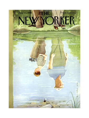 The New Yorker Cover - July 12, 1958 Giclee Print