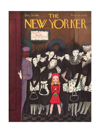 The New Yorker Cover - December 20, 1941 Giclee Print by Christina Malman
