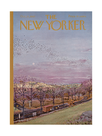 The New Yorker Cover - October 21, 1967 Giclee Print by Albert Hubbell