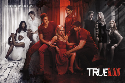 True Blood-Show Your True Colours Poster