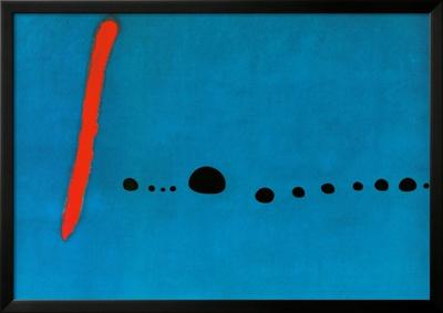 Bleu II Posters by Joan Miró