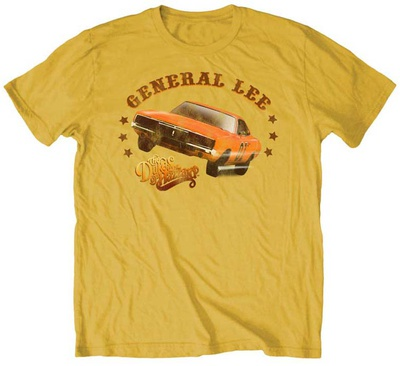 Dukes of Hazzard - Two Wheel General T-Shirt