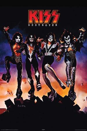 Kiss Destroyer Print