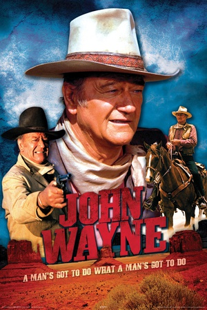 John Wayne Movie poster