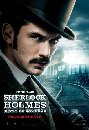 Sherlock Holmes A Game of Shadows - Argentine Style Masterprint