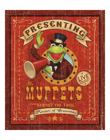Kermit the Frog: Master of Ceremonies Kunsttryk